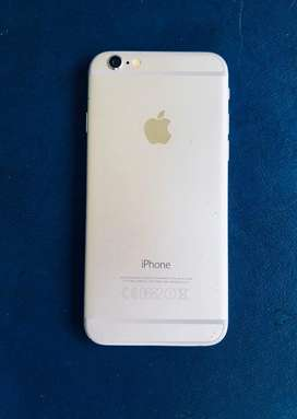 iPhone 6 , 64GB Silver Excellent Condition