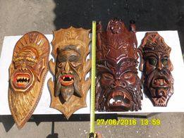 Маски деревянные ручной работы