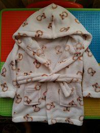 Теплый халат детский 80