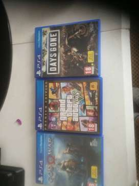 Ps4 games 400 each 600 for 2