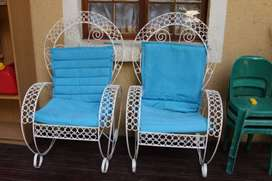Blue Patio Chairs