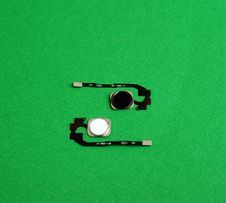 Кнопка Home шлейф Apple Iphone 5s SE 6 чёрная белая новая для айфона