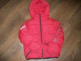 Пуховик, куртка Benetton на 7-8 лет