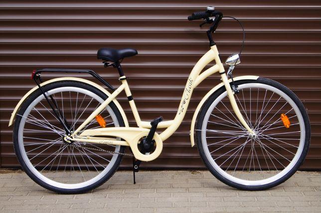 NOWY STYLOWY Rower 28' dla kobiety - Cappuccino . Prod. POLSKI 2019r.! Elbląg - image 2