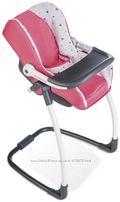 Кресло качели переноска стульчик для кормления BABY BORN Smoby 3 в 1