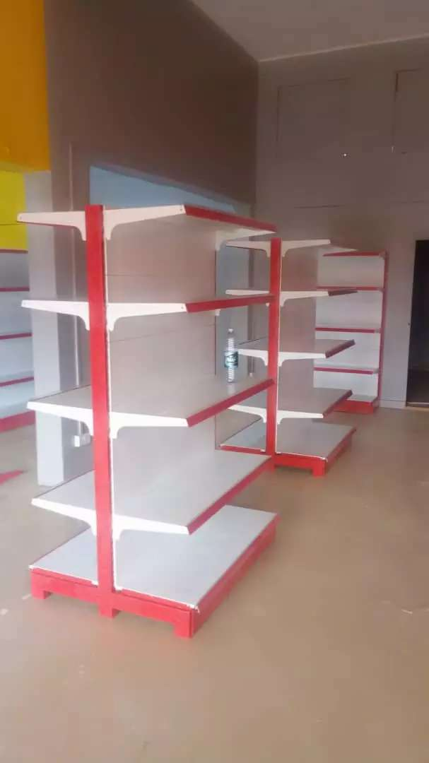 ok Double shelves 1.2meter  And Counter table 0