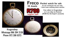 Freco Pocket watch for sale