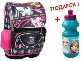 Рюкзак (ранец), Kite (Кайт), каркасный, Monster High, девочки, акция