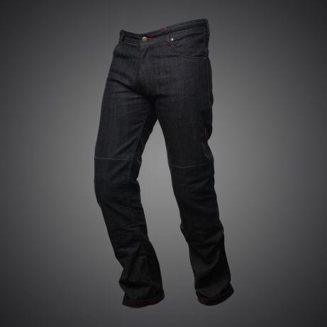 Spodnie motocyklowe jeans 4SR COOL BLACK - Motorbiker Wrocław - image 1