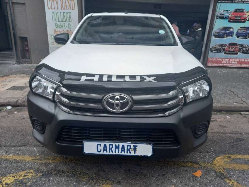2016 TOYOTA HILUX 2.5 D4D WITH 85000KM