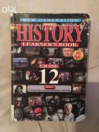 Image of New Generation History book