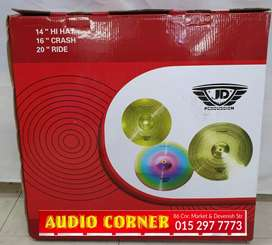 Cymbals By Jd Brand new R2000 Set