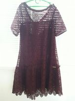 Платье вечернее + повязка для волос Цветок в подарок
