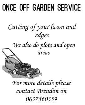 Once-off Garden Service