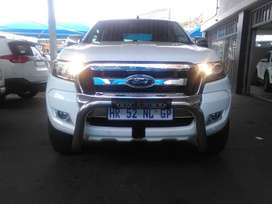 FORD RANGER 3.2 6-SPEED 4X4 D-CAB AUTO