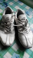Кроссовки для девочки, 33 размер, кожа, Адидас