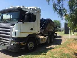 Trucks 34 ton side tippers for hire