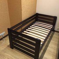 Детская одноэтажная кровать из массива бука Нэмо
