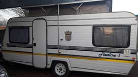 JURGENS FLEETLINE L WITH RALLY TENT WITH SIDES AND ADD ON ROOM