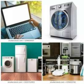 Electrical appliances repairs, refrigeration and air-conditioning