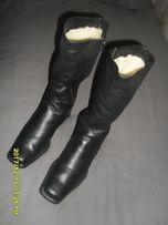 Зимние кожаные женские сапоги 41-41,5р