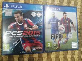 Bargain ! I have 2 PS4 football games !