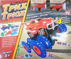 Большой набор Trix Trux канатный трек 2 машинки Монстр траки Трик Трак