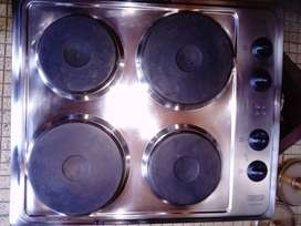 Defy Slimline Stainless Steel Electric Hob R 1600. Excellent Condition