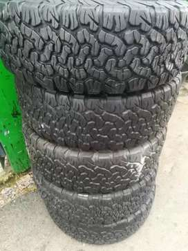 4×265/70/16 BF Goodrich K02 tyres for sale