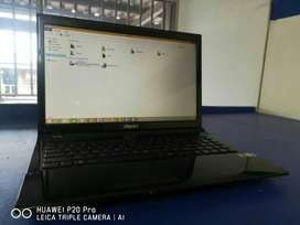 Meccer laptop i7 2630 CPU, 4GB Ram , 500GB HDD, Battery last longer,