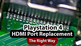 Sony Playstation 4 PS4 HDMI Port Replacement on your Playsta
