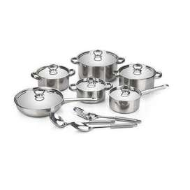 15 pieces stainless steel pots on speacial