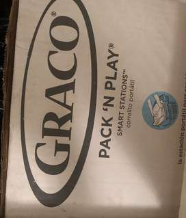 GRACO PACK N PLAY smart stations camp cot