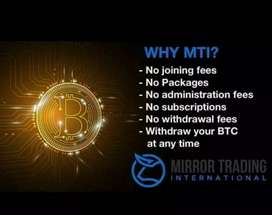 Investment through trading bitcoin