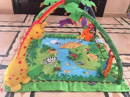 Развивающий музыкальный коврик fisher-price rainforest