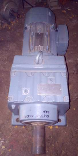 3kw Electric motor & gearbox