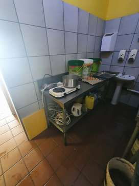 Hi I'm selling fish and chips restaurant complete equipment.