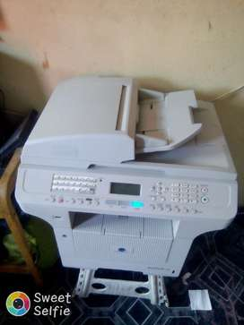 3 in 1/printer..copy nd fax