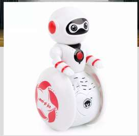 Smart Robot Tumbler Toy Sound Light Induction Educational Gift For Ch