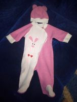 Человечек тёплый + шапочка, комбинезон, костюм, костюмчик, комплект