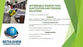 Fogging and Disinfecting Service East Rand