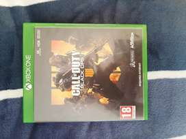 Call of Duty Vlack ops 4 Xbox one great condition