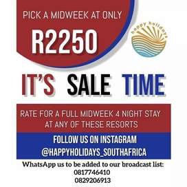Midweek sale R2250