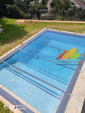 Solid Transparent PVC Safety Pool Covers