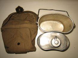 Котелок+ фляга в чехле. Комплект комбинированный для военнослужащих.