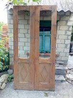 Окна 138,5*150,5 двери 68*178 и 110*210.5с лутками в отличном состояни