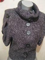 срочно кофта жилет фирма ONLY 44-46 S 12 свитер пуговицы стильный
