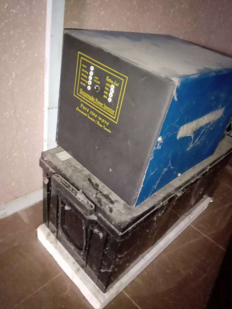 Inverter battery with panel 0