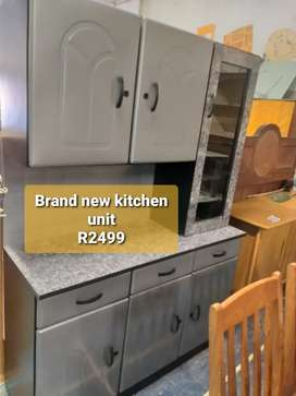 Brand new steel kitchen unit