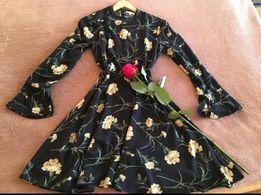 красивое платье warehouse zara